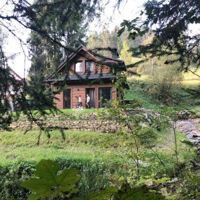 Noclegi w górach Chatta Łapszanka chatka